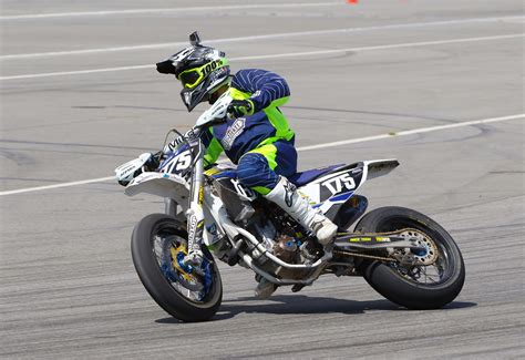 At the AMA Supermoto Season-Opener in Bakersfield ...