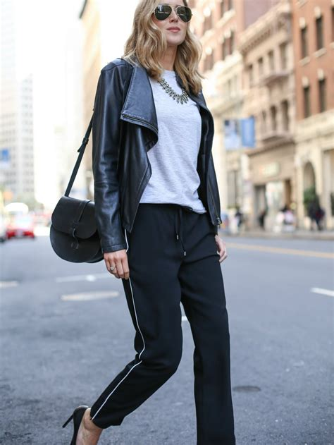 How To Wear Track Pants To The Office | MEMORANDUM | NYC Fashion u0026 Lifestyle Blog for the ...