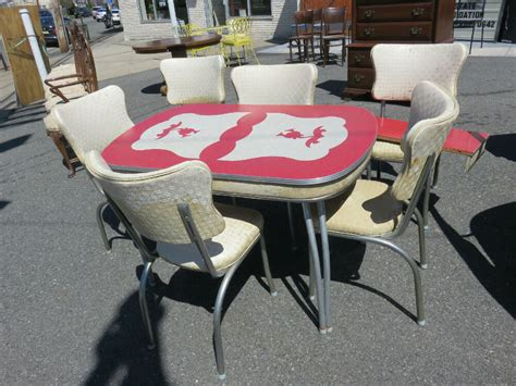 50s retro kitchen table and chairs retro kitchen table and 6 chairs 50 s chrome with design
