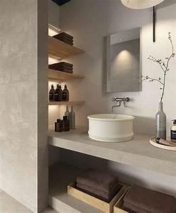 Holz Für Badezimmer : holz f r nische im bad google suche einrichten und wohnen pinterest badezimmer ~ Frokenaadalensverden.com Haus und Dekorationen