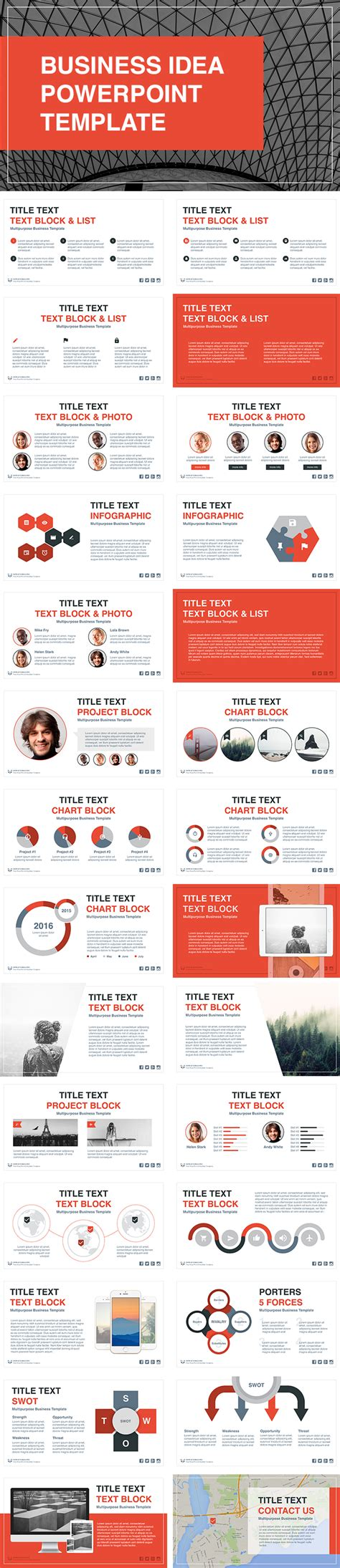 powerpoint change template for entire presentation business idea free powerpoint template download free