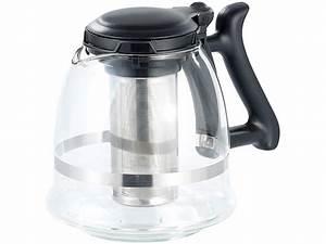 Teekanne Aus Glas Mit Sieb : rosenstein s hne teekanne aus glas mit edelstahl ~ Michelbontemps.com Haus und Dekorationen