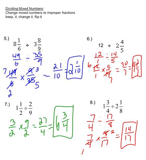 Mixed Fraction Examples  World Of Reference