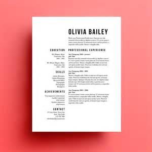 Resume Cover Letter Design