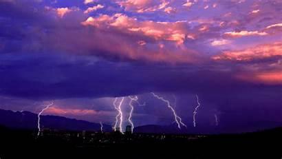 Lightning Purple Wallpapers Storm Cool Pixelstalk Ipad