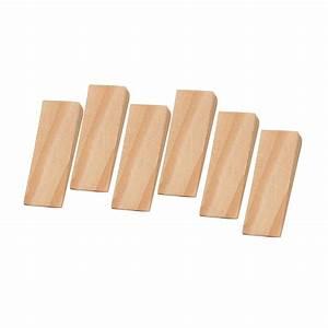 Pine, Effect, Wood, Door, Wedge, Pack, Of, 6