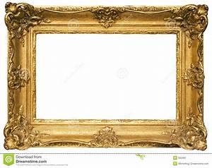 Cadre De Tableau : cadre de tableau en bois plaqu par or avec le chemin ~ Dode.kayakingforconservation.com Idées de Décoration
