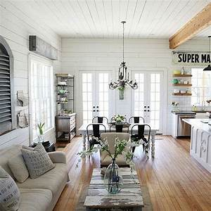 Joanna gaines farmhouse Living Room Pinterest