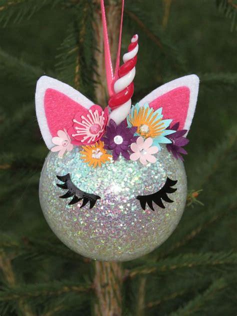 ball  noel licorne unicorn   room decoration