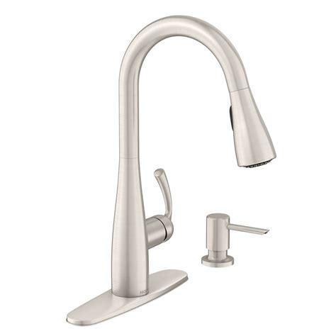 moen benton kitchen faucet moen benton 1 handle pulldown kitchen faucet