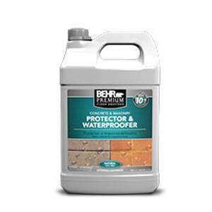 behr protector  waterproofer review concrete sealer