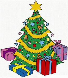 Christmas Tree With Presents Clipart | Clipart Panda ...