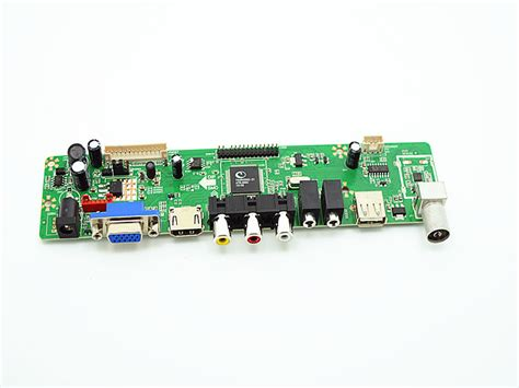 v59 lcd tv controller board la mv9 p with usb for lcd tv board vantron