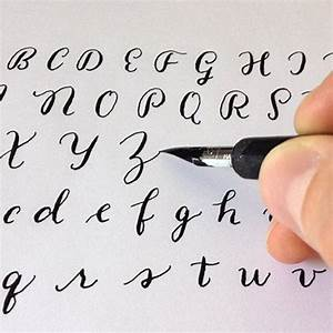 373 best calligraphy ideas images on pinterest letter for Calligraphy pen letters