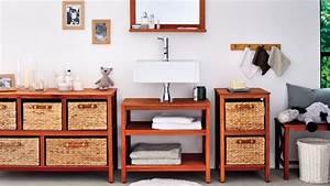 photo meuble bas salle de bain fly With meuble de rangement salle de bain fly