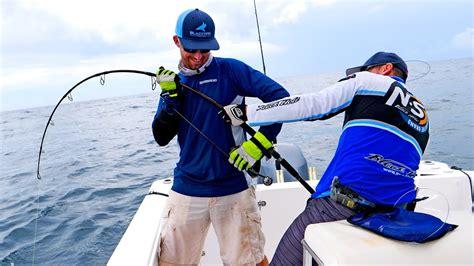 fishing grouper monster tackle spinning blacktiph challenge