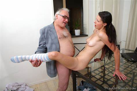 True Sweet And Her Grandpa Son Lets Playful With A Flawless Pigtailed Gal And Pumps