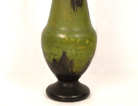 grand vase daum nancy en p 226 te de verre 66 cm art nouveau