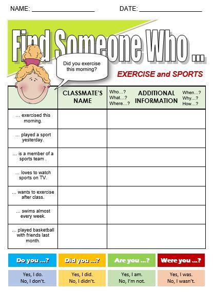 exercise  sports   topics