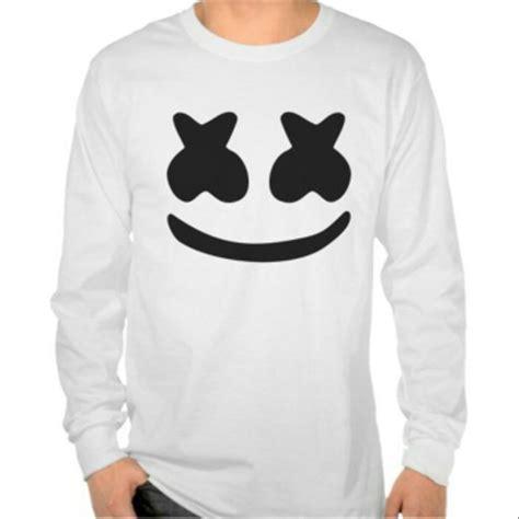 jual tshirt kaos baju marshmello logo kaos distro t shirt edm dj longsleeve lengan panjang