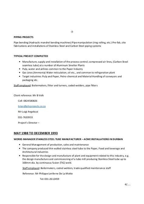 Resume Steel Fixer by Cv2015march