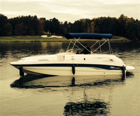Deck Boats For Sale Nc by 2002 Chaparral Sunesta 236 Deck Boat For Sale In
