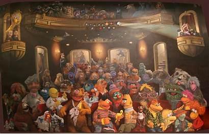 Muppets Muppet Henson Mural Desktop Jim Watt