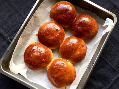 Delicious golden brioche buns | Thermomix Baking Blogger