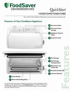 Foodsaver V2440 User Manual