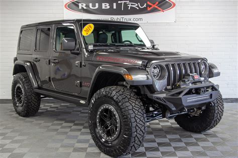 2019 Jeep Wrangler Rubicon Unlimited Jl Granite Crystal