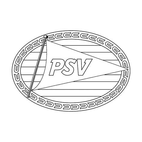 Kleurplaat Logo by Leuk Voor Logo Psv Eindhoven