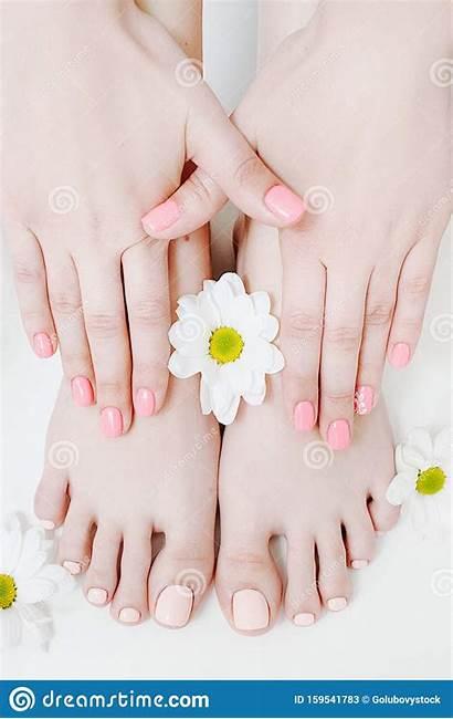 Manicure Pedicure Nail Salon Care Female