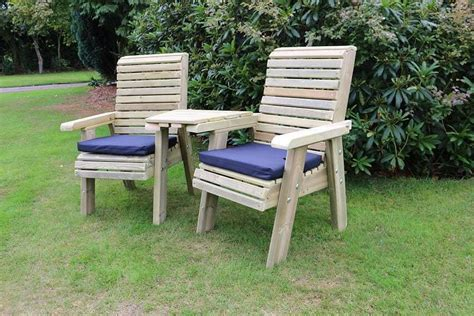 Garden Furniture Seats by Wooden Seats Connecting Chair Set And Seat