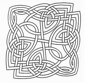 celtic knot letters coloring pages