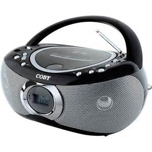 Coby MP-CD455 Portable MP3/CD Player with AM/FM Radio MPCD455