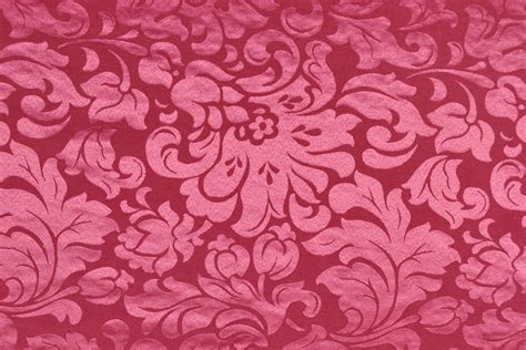 Dekostoff Premium  Barockornamente  270 Cm Pink