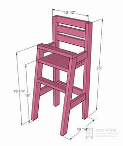 High Chair Woodworking Plans - WoodWorking Projects & Plans