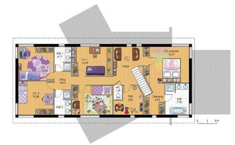 maison 224 ossature bois 2 d 233 du plan de maison 224 ossature bois 2 faire construire sa maison