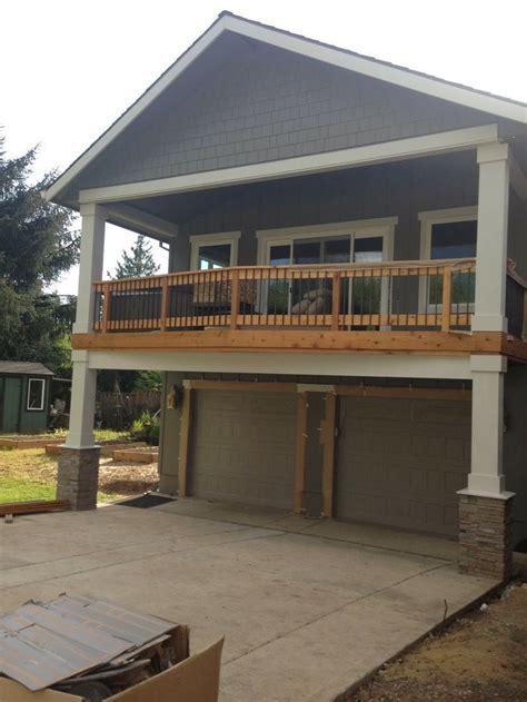 deck  garage google search garage apartment plans