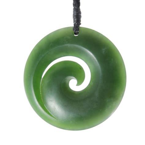 Koru pounamu | Green, Spiral, Accesories