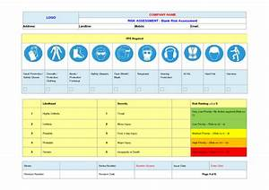 Blank Risk Assessment Example To Download