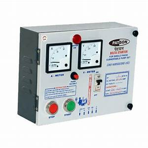 Submersible Pump Starter And Panel At Rs 800   Piece