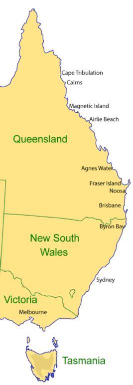 complete guide travelling  east coast  australia