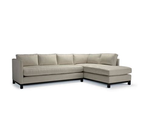 Therapy Sectional by Clifton Sectional Mitchell Gold Apartment Therapy Review
