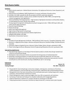 injection mold resume collegeconsultantsxfc2com With plastic injection molding sample resume