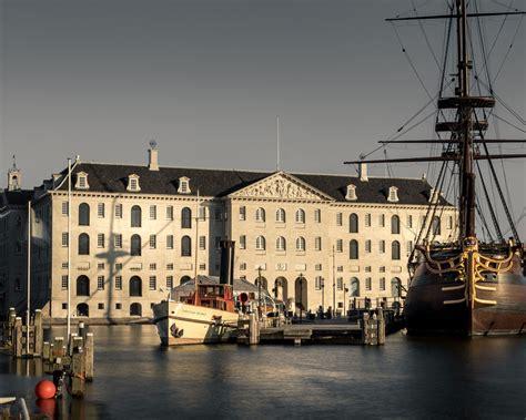 Scheepvaartmuseum Binnenplaats by Het Scheepvaartmuseum Patrimonia Amsterdam