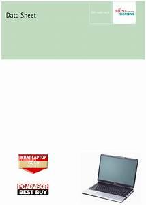 Fujitsu Laptop Amilo Pi 1505 User Guide