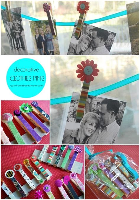 Decorative Pins For Clothing - decorative clothes pins your homebased