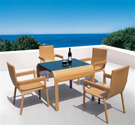 blue outdoor table and chairs zinc kitchen marceladick com
