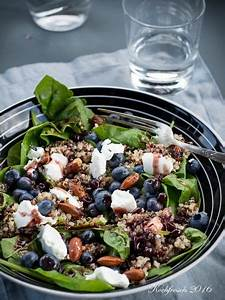 Rezepte Mit Babyspinat : die besten 25 quinoa salat ideen auf pinterest quinoa ~ Lizthompson.info Haus und Dekorationen